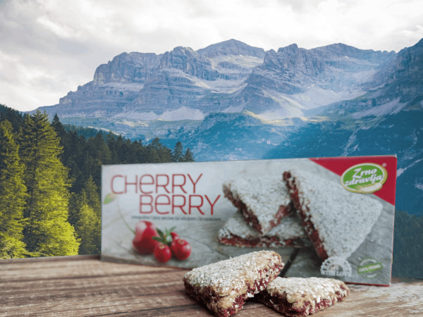integralni keks cherry berry