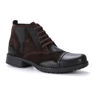 muške duboke cipele 24b tamno braon