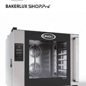 Pećnica BakerLux 4 Touch, profesionalna pećnica namenjena kafićima.