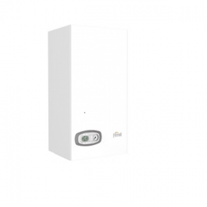 Gasni kotao fasadni DIVATECH D za proizvodnju tople vode i grejanje, za ugradnju na otvorenom ili delimično zaštićenom prostoru do -5 ºC.