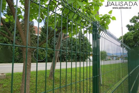 Panelna ograda EUROFENCE 3D