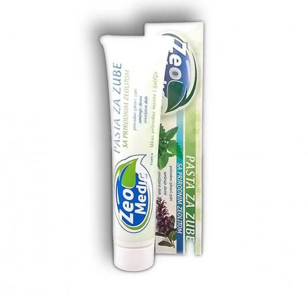 Pasta za zube ukus žalfije i mente sa zeolitom i xylitolom