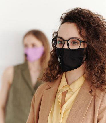 nosenje maske i naočara