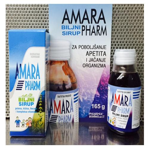 AMARAPHARM® biljni sirup za jačanje organizma