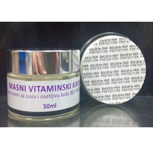 Masna vitaminska krema za suvu kožu