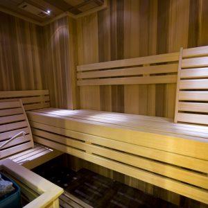 Sauna hotel prezident