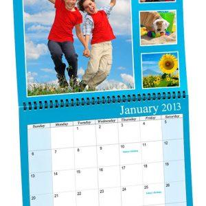 izrada persolanizovanih porodičnih kalendara