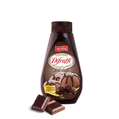toping difrutti dezertni preliv sa ukusnom čokolade