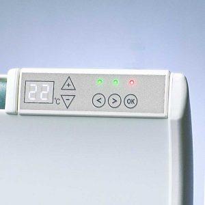 Norveški radijator PR12 DT - beli sa digitalnim termostatom.