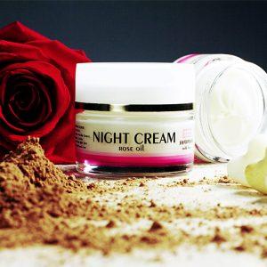 Noćna krema sa ružinim uljem