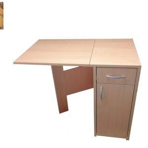 Radni sto na sklapanje gornje daske.