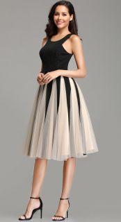 Svečana kratka haljina bez rukava
