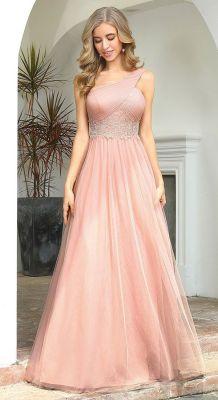 Duga haljina na jedno rame