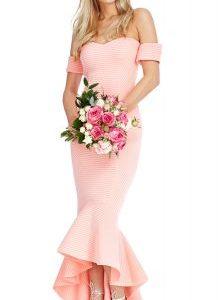 Prelepa svečana haljina asimetričnog oblika