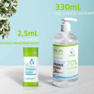 Brendirani gel za dezinfekciju