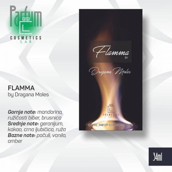 FLAMMA by Dragana Moles