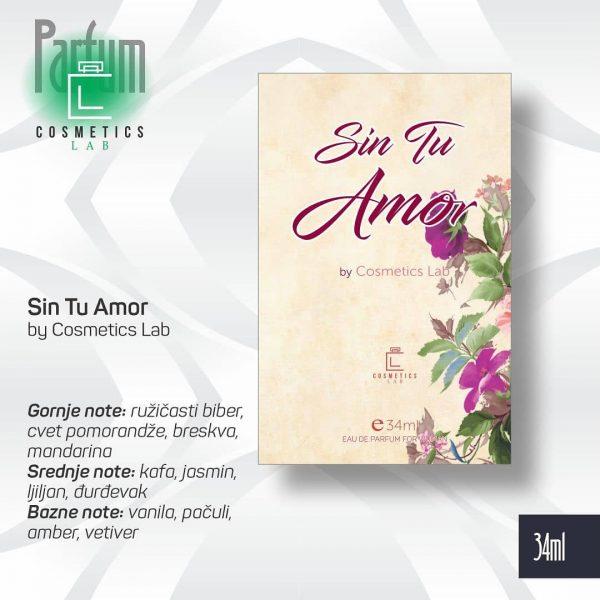 Parfem Sin Tu Amor