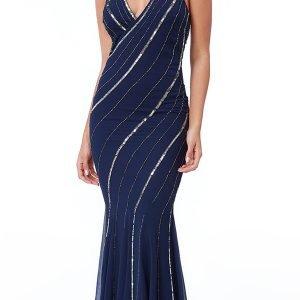 Teget sirena haljina