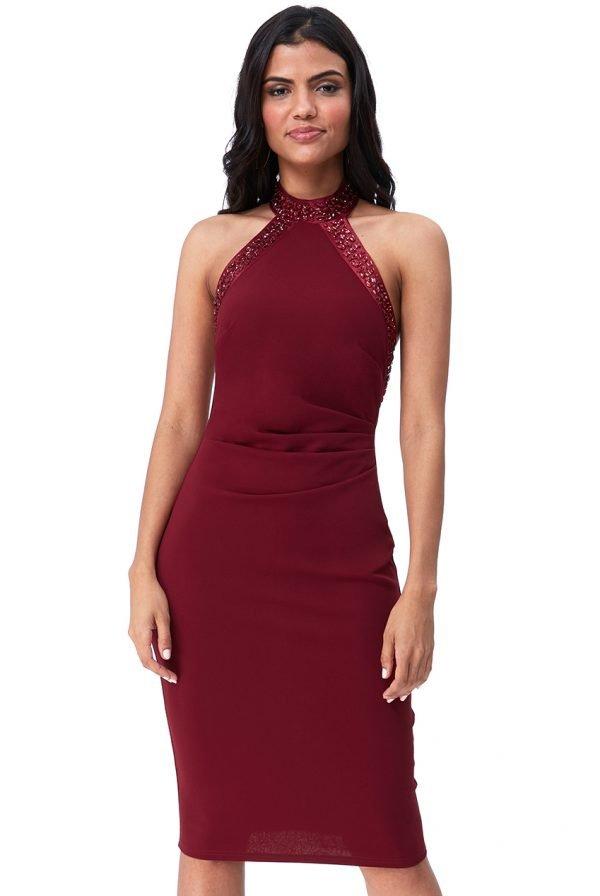 Svečana uska kratka haljina