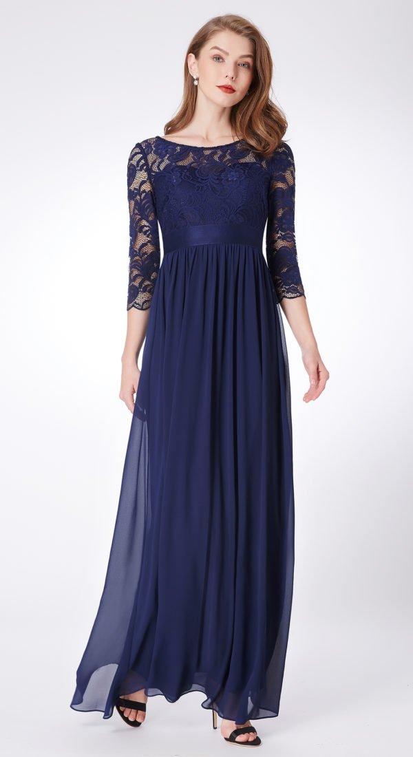 Elegantna haljina za punije dame