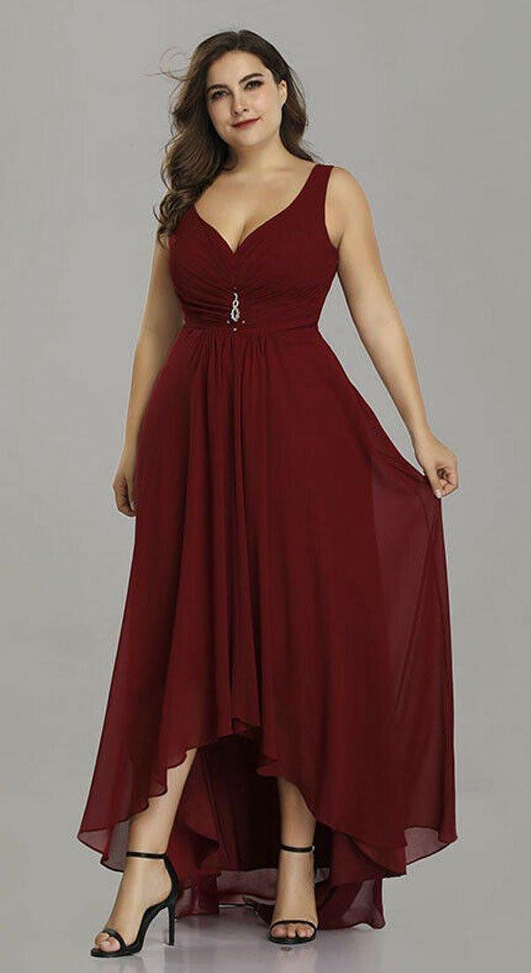 Asimetrična svečana haljina