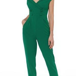 Zeleni ženski kombinezon