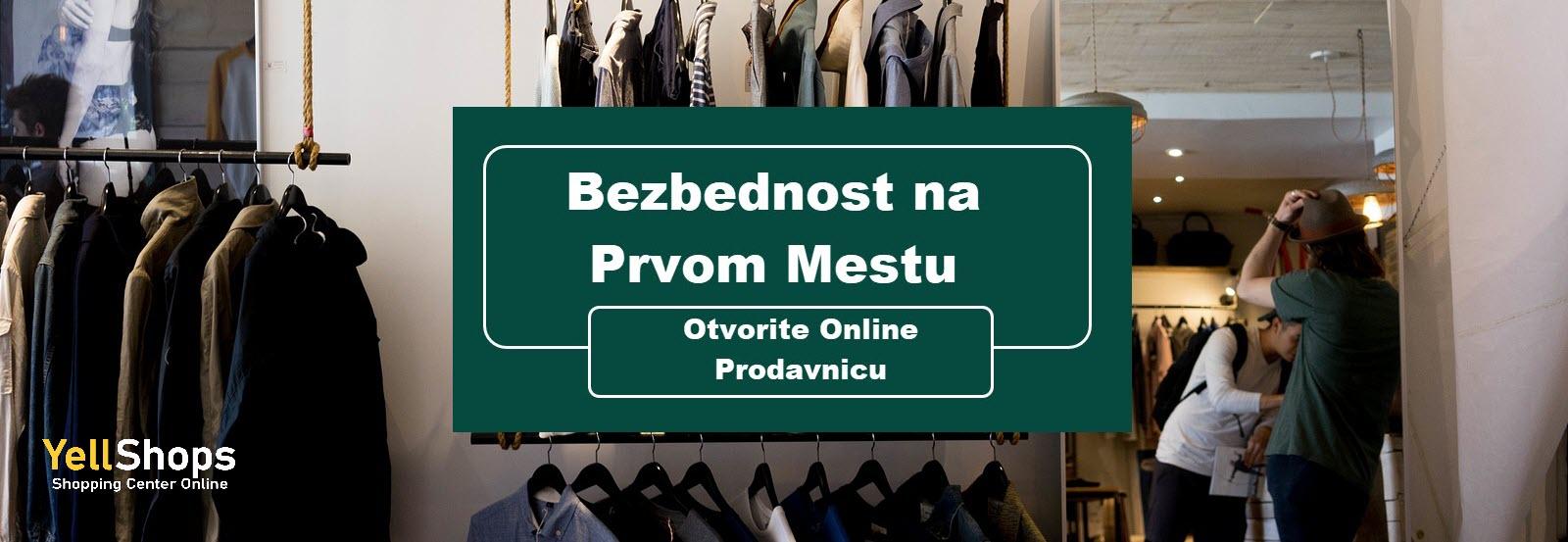 Otvorte online prodavnicu