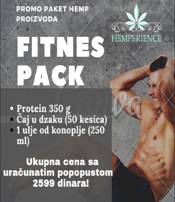 Fitnes paket od konoplje