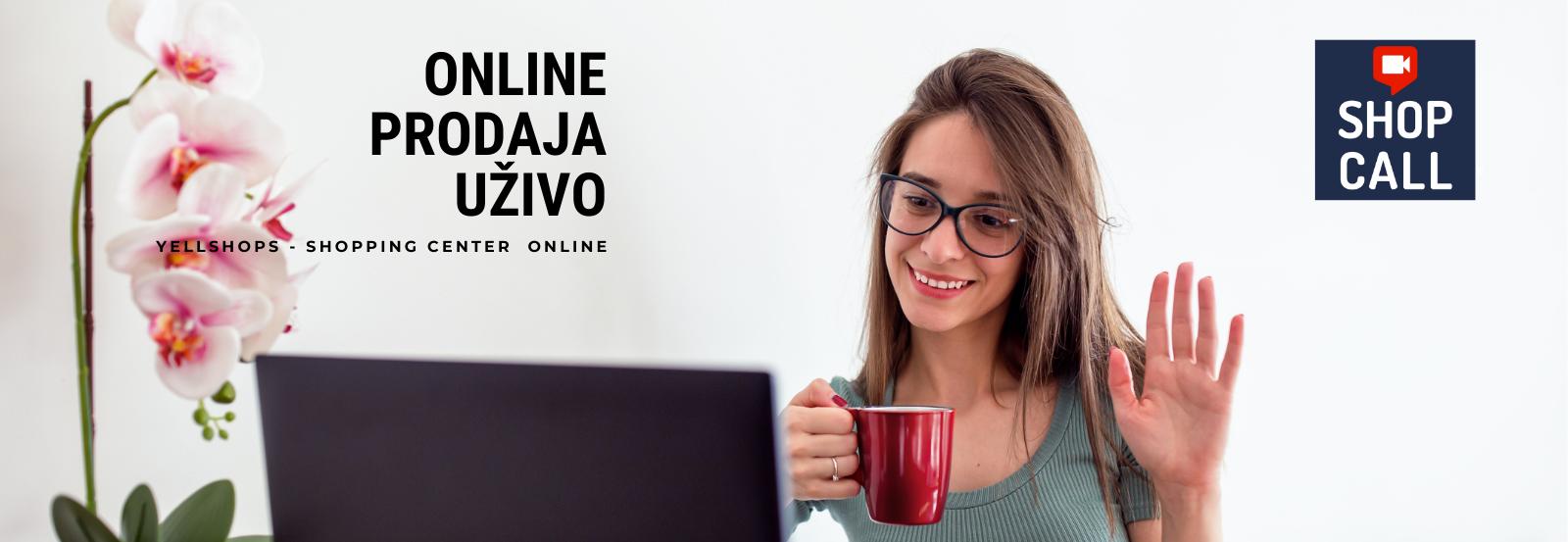 Online prodaja uzivo