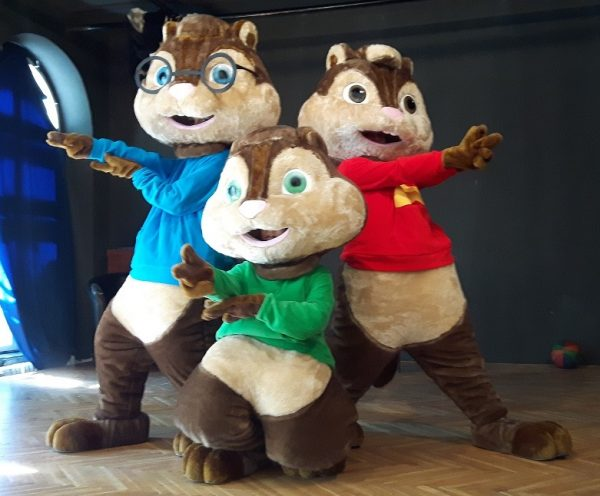 Predstava Alvin i veverice