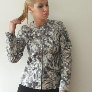 Siva melirana kratka jakna