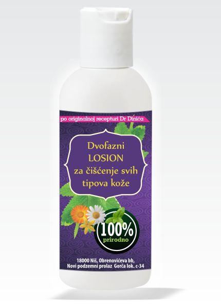 lonsion za čišćenje svih tipova kože